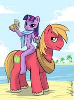 I'm on a pony by atryl