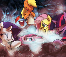 30min Challenge - Hot Springs by atryl