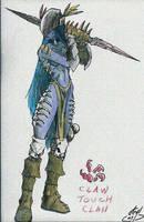 Warcraft - Night Elf Ranger II by atryl