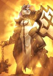 Rarity the Crusader by atryl