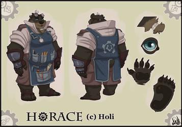 Horace Ref Sheet by atryl
