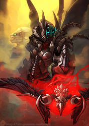 Demon Hunter by atryl