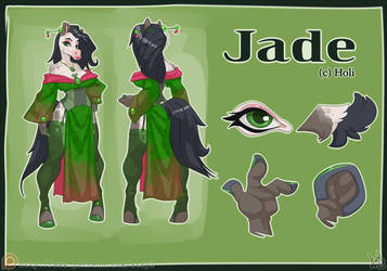 Jade Reference Sheet by atryl