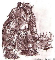 Chieftain by atryl