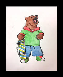 Skate Bear by DH-Students-Gallery