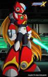 Megaman X: Zero by NarutoRenegado01