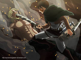 Shingeki no Kyojin 81: You... Bastard by NarutoRenegado01