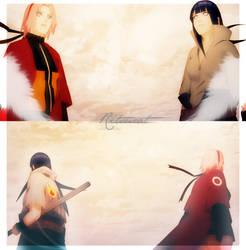 Hinata Sakura /Sasuke Naruto/ by Ritsucat