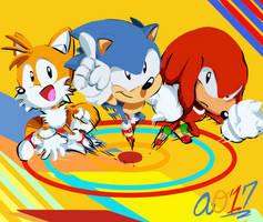 Manize! (Sonic's 26th Anniversary) by ArtisyOne