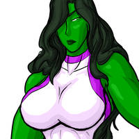 She-Hulk by JonFreeman by elee0228