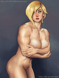 Power Girl Nude by elee0228