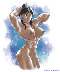 Korra Nude by elee0228