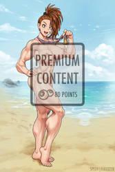 Captain Mizuki Nude (Premium Content) by elee0228