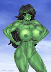 She-Hulk Nude Boobs by elee0228