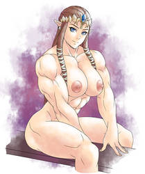 Zelda Nude Boobs by elee0228
