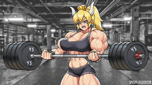 Bowsette by elee0228