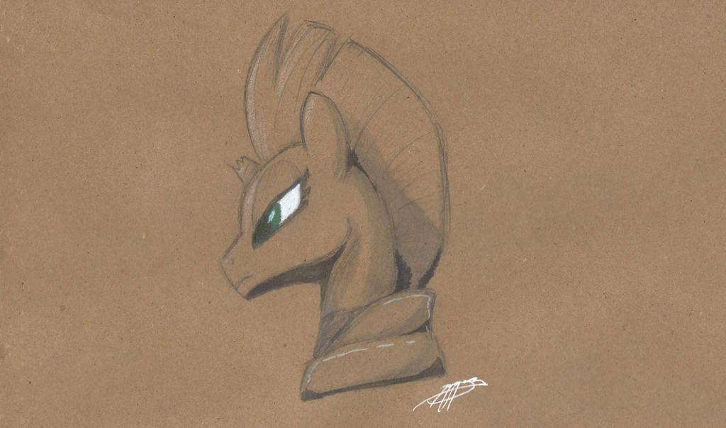 Sketch: Tempest Shadow by Brisineo