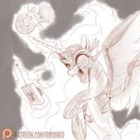 Patreon Reward: Happy Day by Brisineo
