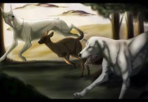 Hunters by Wohwelii
