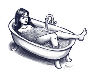 Bath Time by AdorisArts