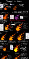 Fire Tutorial (Paint Tool SAI) by Themeguy