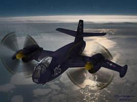 VTOL IN HORIZONTAL FLIGHT by CUTANGUS