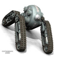 COMBAT TRACKED VEHICLE by CUTANGUS