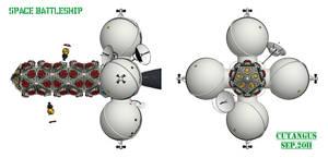 Space Battleship 1 by CUTANGUS