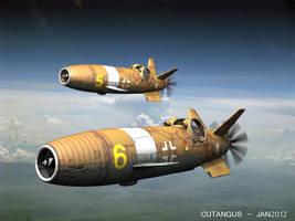Luftwaffe flight, 1948 by CUTANGUS