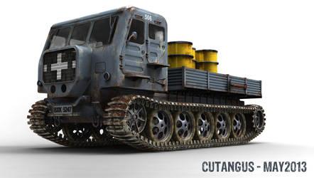 WORN TRUCK by CUTANGUS