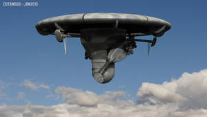 AEROSTATIC DRONE by CUTANGUS