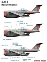 Model 181 B basic internal components by CUTANGUS