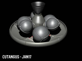 Aerobraking Space Vehicle by CUTANGUS