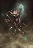 Mythmonger, nook creeper. by glitchritual