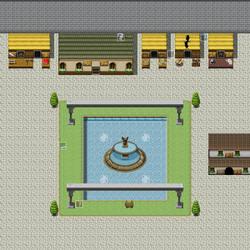 Xsainu Town Square [WIP] by DemonHuntRPG