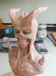 Demon bust #4 by RetardedDogProductns