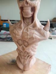 Demon bust #7 by RetardedDogProductns