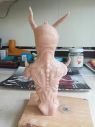 Demon bust #9 by RetardedDogProductns