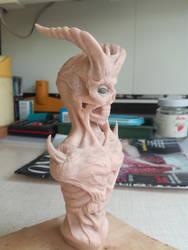 Demon bust #10 by RetardedDogProductns