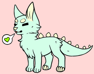 Another Monster Cat Adopt! .:CLOSED:. by CupcakeDeviantArt