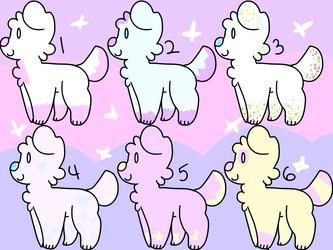 6 doggo adopts .:CLOSED:. by CupcakeDeviantArt