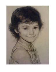 portrait of  girl by vlakrisenko