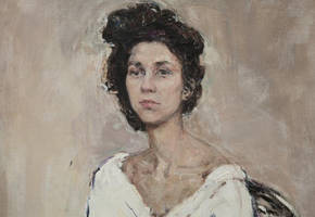 Portrait, fragment by vlakrisenko