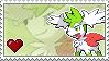 'Skymin' Stamp by Porygon-Z