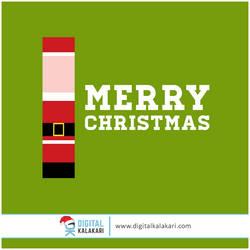Merry Christmas   Illustration by digitalkalakari