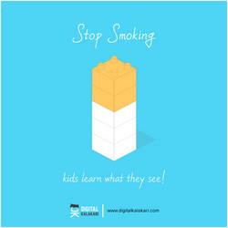 Stop Smoking   Poster Design by digitalkalakari