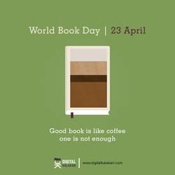 World Book Day   Poster Design by digitalkalakari
