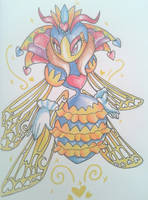 Queen Sectonia again by Crashkirby888