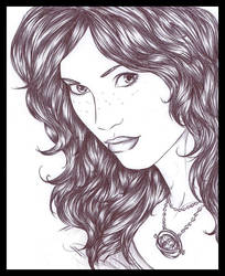 Rose Weasley by ericahpfa