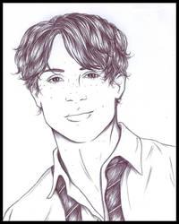 Hugo Weasley by ericahpfa